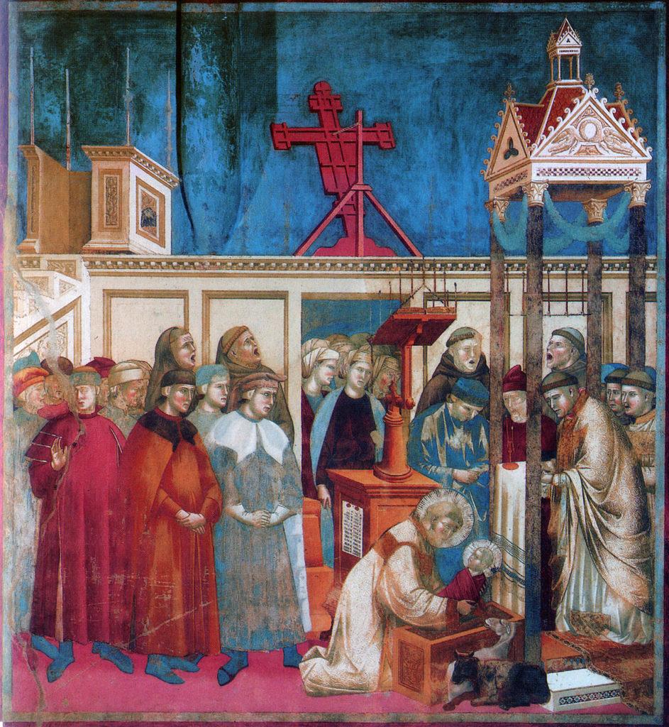 (3) Il Presepio di Greccio