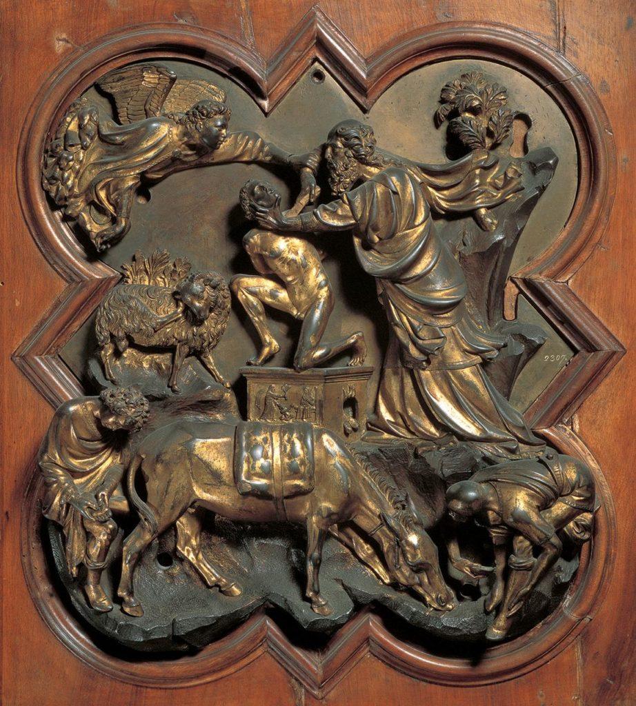 Formella di Brunelleschi